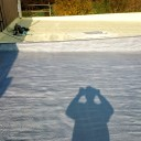 Hydroinsulations of flat roofs